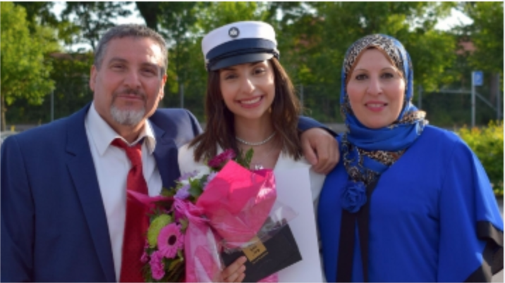 الفلسطينية ياسمين اليوسف تحصل على المعدل الأعلى في الثانوية في الدنمارك Screenshot 2020 07 09 at 3