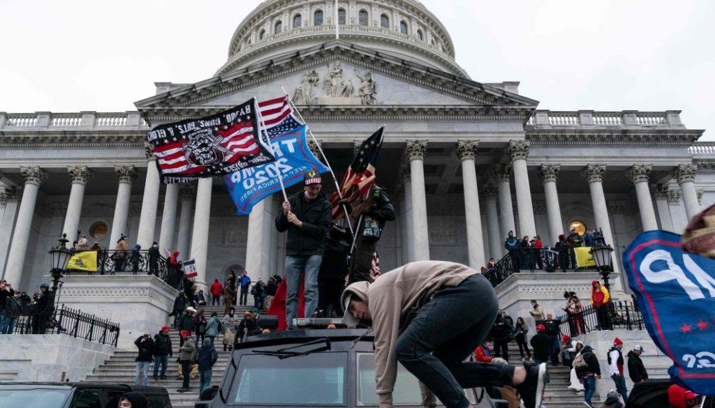 دراسة: أحداث واشنطن قد تلهم اليمينيين في النرويج 1795064 1024x585