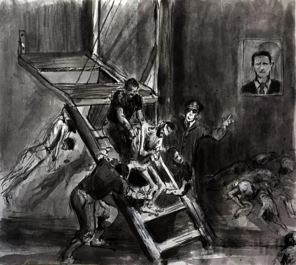 تعذيب ممنهج – تعرض آلاف الأشخاص للتعذيب حتى الموت في سوريا. 1910c55b 38d7 4d99 8730 c0a7520c5865 Copy 1 1024x916