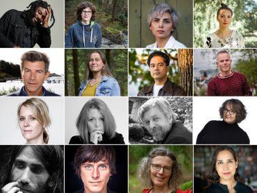 انطلاق مهرجان الأدب في بيرغن forfattercollage lansering 2021 2 370x278