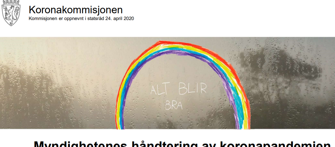 تقرير لجنة الكورونا: 450 صفحة تدرس تعامل النرويج مع الوباء 2021 04 15 2 1136x500