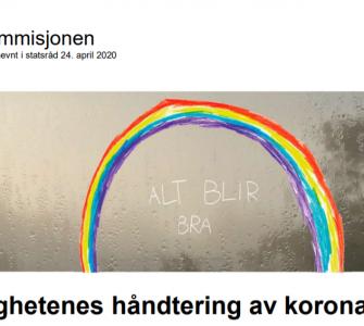 تقرير لجنة الكورونا: 450 صفحة تدرس تعامل النرويج مع الوباء 2021 04 15 2 335x300